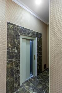 Um banheiro em Deniz Inn City Hotel