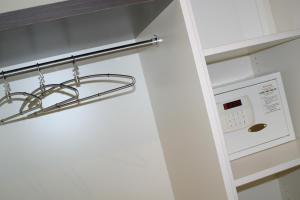 Ванная комната в Le Merceny Motel