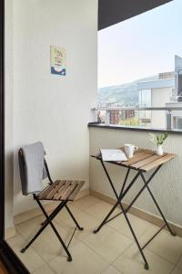 A balcony or terrace at Moodeight Apartments