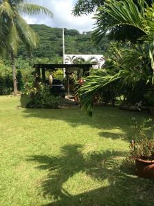 Um jardim em Franky's Fare