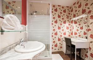 Een badkamer bij Hotel Cathedral