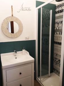 A bathroom at La Stanza di Rachele