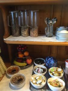Essen in der Pension oder in der Nähe