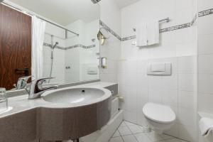 Ванная комната в Trip Inn Hotel Frankfurt Airport Rüsselsheim