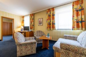 Гостиная зона в Trip Inn Hotel Frankfurt Airport Rüsselsheim