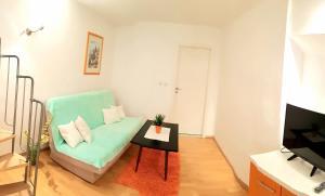 Posezení v ubytování Apartments Baška Voda Jadran