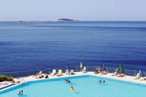 A view of the pool at Apartments with a parking space Plat, Dubrovnik - 16457 or nearby
