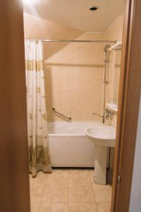 Ванная комната в Nika Hotel Barnaul