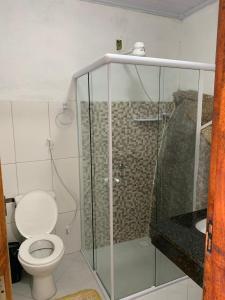 A bathroom at Flats Alto das Pedras