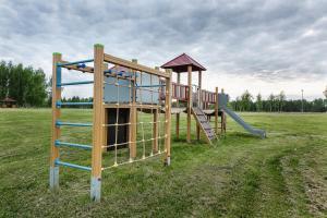 Children's play area at Juku Dzirnavas