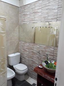 A bathroom at Fragancias Serranas