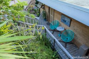 Uma varanda ou terraço em Fare Matatia