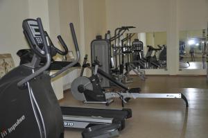 Фитнес-центр и/или тренажеры в Отель Прометей