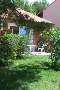 Jardin de l'établissement Résidence Goélia Cap Bleu
