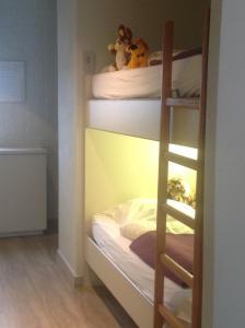 Un ou plusieurs lits superposés dans un hébergement de l'établissement Melrose 'Puur Logies'