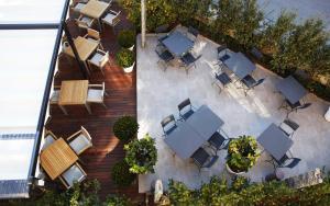 A bird's-eye view of Hotel Arancioamaro