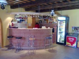 Lounge alebo bar v ubytovaní Penzion Erihof