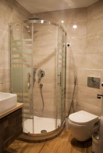 A bathroom at Hotel Erika