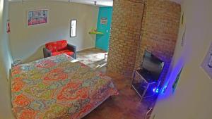 Cama o camas de una habitación en La Ceiba Casona Rural