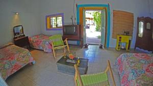 Zona de estar de La Ceiba Casona Rural