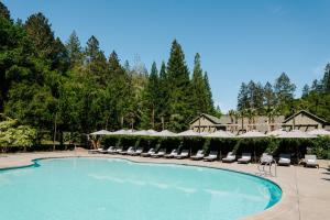 The swimming pool at or near Meadowood Napa Valley