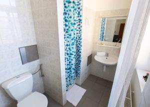 Koupelna v ubytování Masarykova Kolej