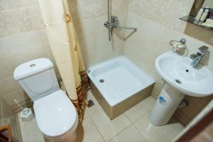 Ванная комната в Hotel Sport