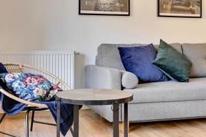 Posezení v ubytování Comfort Apartments Waterlane Island