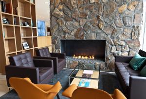 Coin salon dans l'établissement Icelandair Hotel Reykjavik Natura