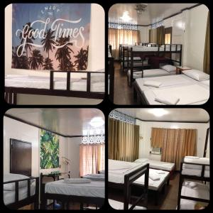 Litera o literas de una habitación en Hostel Perla Bohol