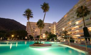 Het zwembad bij of vlak bij Apartamentos Siesta I