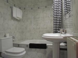 Un baño de Hotel Las Nieves