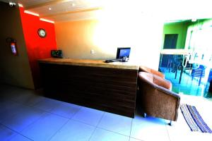 The lobby or reception area at Hotel Solare