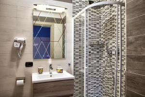 A bathroom at La Collina dei Ciliegi