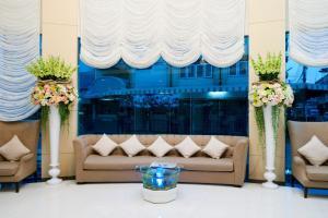 The lobby or reception area at Royal Pavilion Hua Hin
