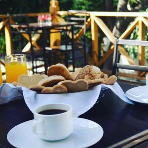 Opciones de desayuno disponibles en G y V Hotels