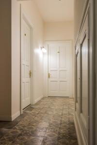 A bathroom at Apartament Jana Matejki