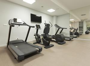 The fitness center and/or fitness facilities at Grand Concerto Hotel