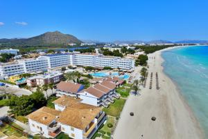 Een luchtfoto van Hotel Condesa