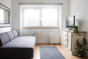 Uma cama ou camas num quarto em Sea for Yourself