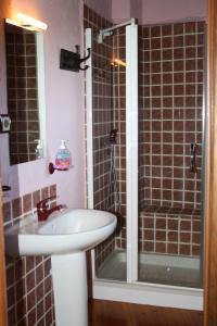 Un baño de Hotel Rural Santa Cruz