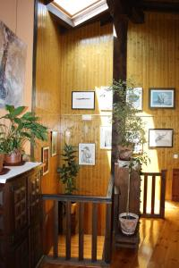 El salón o zona de bar de Hotel Rural Santa Cruz