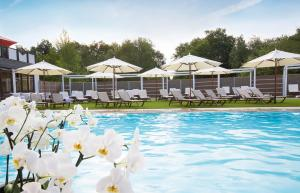 The swimming pool at or near Land & Golf Hotel Stromberg