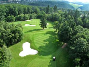 A bird's-eye view of Land & Golf Hotel Stromberg