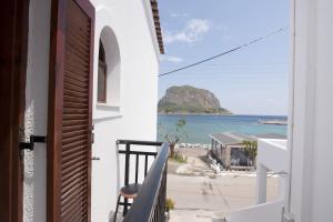 Balcon ou terrasse dans l'établissement AGNANTIO