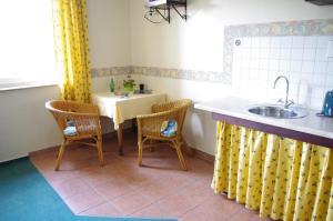 Küche/Küchenzeile in der Unterkunft La Petite Provence