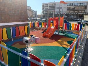 Children's play area at Montemar