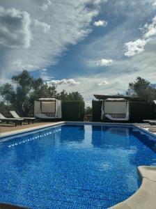 The swimming pool at or near Sa Vinya d'en Palerm