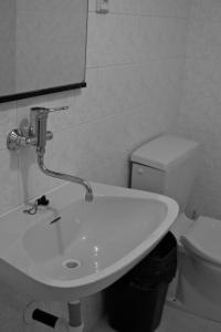 A bathroom at Penzion Nikola