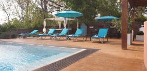 The swimming pool at or close to Villa Alyzea